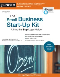 Cover Small Business Start-Up Kit, The