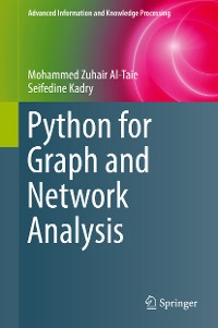 Cover Python for Graph and Network Analysis