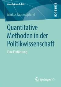 Cover Quantitative Methoden in der Politikwissenschaft
