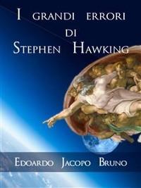 Cover I grandi errori di Stephen Hawking