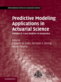 Cover Predictive Modeling Applications in Actuarial Science
