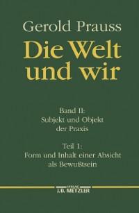 Cover Die Welt und wir