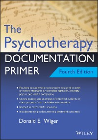 Cover The Psychotherapy Documentation Primer