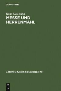 Cover Messe und Herrenmahl
