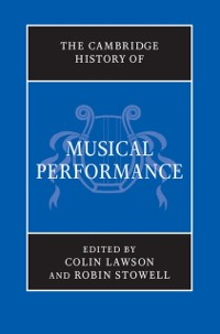 Cover Cambridge History of Musical Performance