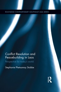 Cover Conflict Resolution and Peacebuilding in Laos
