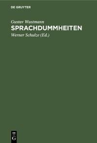 Cover Sprachdummheiten