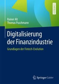 Cover Digitalisierung der Finanzindustrie