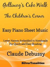 Cover Golliwog's Cakewalk Children's Corner Easy Piano Sheet Music