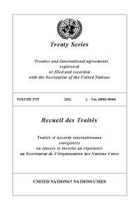 Cover Treaty Series 2755/Recueil des Traités 2755