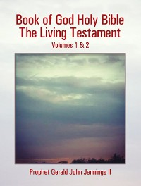 Cover Book of God Holy Bible the Living Testament
