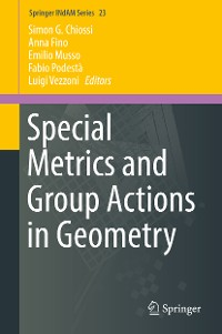 Cover Special Metrics and Group Actions in Geometry