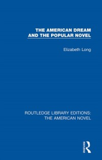 Cover American Dream and the Popular Novel