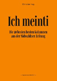 Cover Ich meinti IV