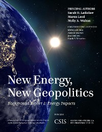 Cover New Energy, New Geopolitics