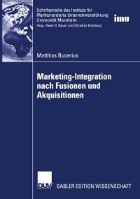 Cover Marketing-Integration nach Fusionen und Akquisitionen