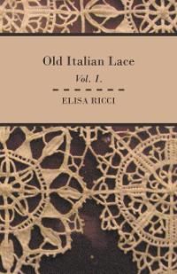 Cover Old Italian Lace - Vol. I.