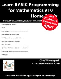Cover Learn Basic Programming for Mathematics V10