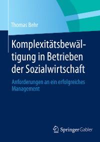 Cover Komplexitätsbewältigung in Betrieben der Sozialwirtschaft