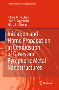 Cover Initiation and Flame Propagation in Combustion of Gases and Pyrophoric Metal Nanostructures