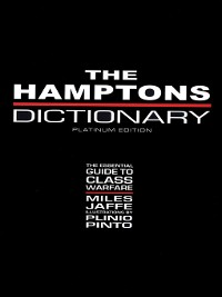 Cover The Hamptons Dictionary