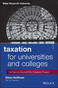 Cover Taxation for Universities and Colleges