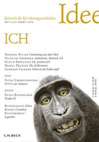 Cover Zeitschrift für Ideengeschichte Heft XII/3 Herbst 2018