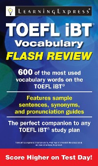 Cover TOEFL iBT® Vocabulary Flash Review
