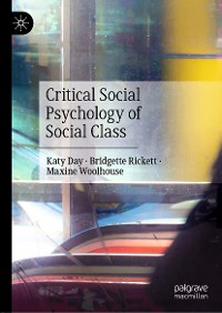 Cover Critical Social Psychology of Social Class