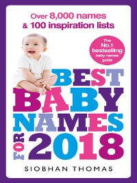Cover Best Baby Names for 2018