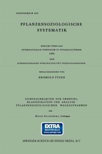 Cover Sichtlochkarten zur Ordnung, Klassifikation und Analyse Pflanzensoziologischer Waldaufnahmen