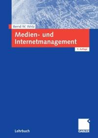 Cover Medien- und Internetmanagement