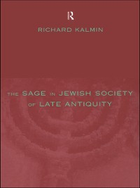Cover Sage in Jewish Society of Late Antiquity