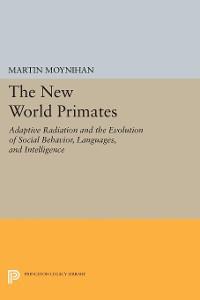 Cover The New World Primates