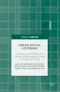 Cover Urban Social Listening