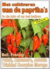 Cover Het cultiveren van de paprika's in de tuin of op het balkon