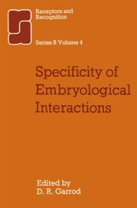 Cover Specificity of Embryological Interactions