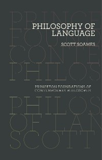 Cover Philosophy of Language