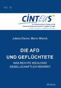 Cover Die AfD und Geflüchtete