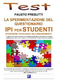Cover La Sperimentazione del Questionario IPI per Studenti
