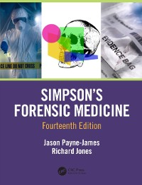 Cover Simpson's Forensic Medicine, 14th Edition