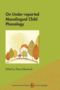 Cover On Under-reported Monolingual Child Phonology