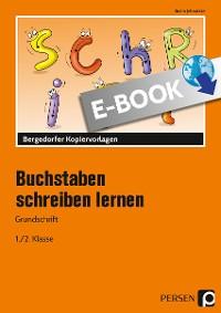 Cover Buchstaben schreiben lernen - Grundschrift