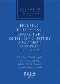 Cover Housing Policy and Tenure Types in the 21st Century