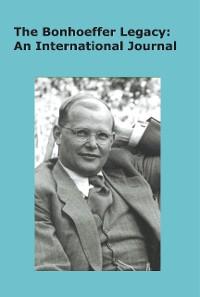 Cover The Bonhoeffer Legacy (6/1 2018)