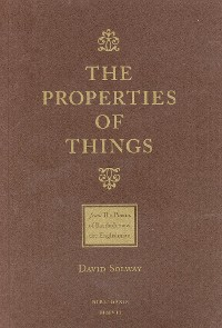 Cover The Properties of Things