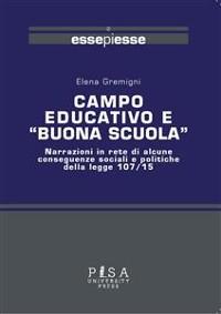"""Cover Campo educativo e """"Buona scuola"""""""