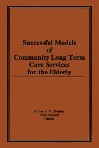 Cover Successful Models of Community Long Term Care Services for the Elderly