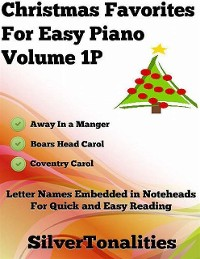 Cover Christmas Favorites for Easy Piano Volume 1 P