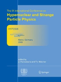 Cover Proceedings of The IX International Conference on Hypernuclear and Strange Particle Physics
